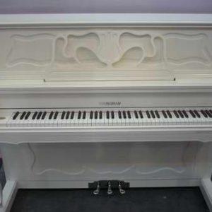 樂器展白色直立琴00